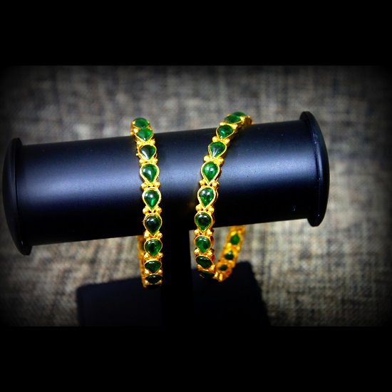plated jewels exclusive az gold large shaped green red for women stone circular bangles galaxy